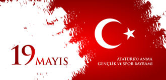 mayis-ataturk-u-anma-genclik-ve-spor-bayrami-translation-th-may-commemoration-ataturk-youth-sports-day-turkish-turkish-91381500